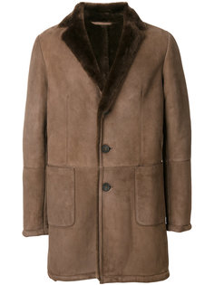buttoned shearling jacket  Desa 1972