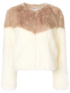 куртка с контрастным мехом  Dondup
