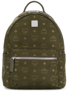 logo printed backpack MCM