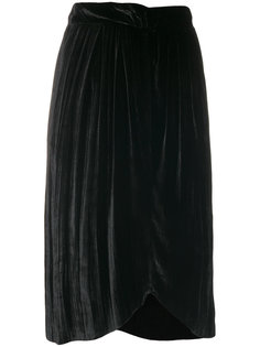 crimped velvet skirt Masscob