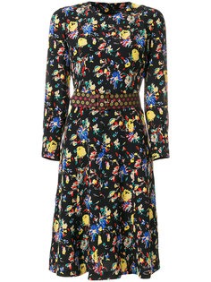 платье с цветочным принтом Etro