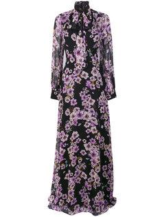 long floral dress Giambattista Valli