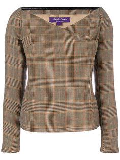 блузка в клетку  Ralph Lauren Collection