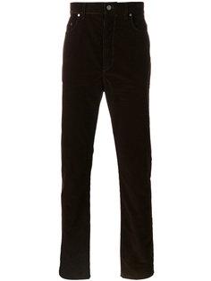 вельветовые брюки Lanvin