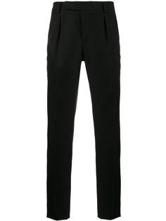 строгие брюки Double Saint Laurent