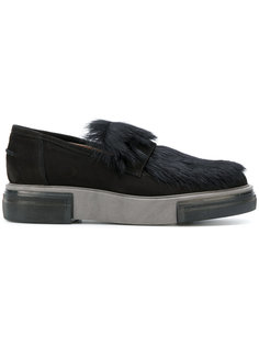 platform loafers Pollini
