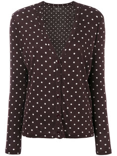polka dot cardigan  Majestic Filatures