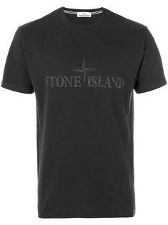 футболка с принтом логотипа Stone Island