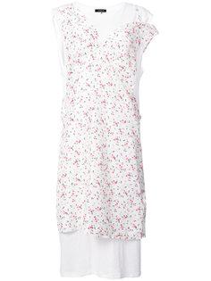 платье с принтом роз R13