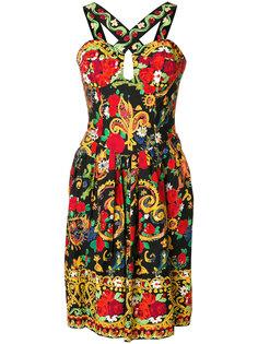 платье с узором Christian Lacroix Vintage
