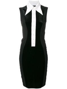 мини платье с контрастным воротником Givenchy