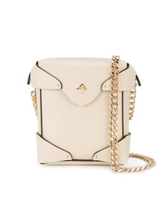 микро-сумка через плечо Pristine Manu Atelier
