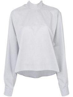 рубашка с высоким воротником  Mm6 Maison Margiela