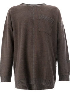 свитер свободного кроя Yohji Yamamoto