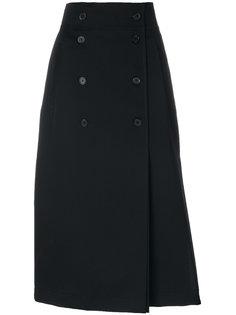 двубортная юбка  Rochas