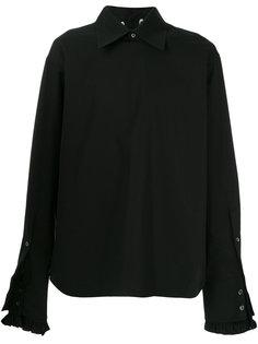 рубашка с присборенными манжетами Ann Demeulemeester