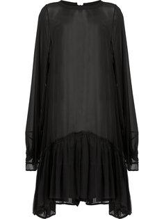 многослойное платье  Ann Demeulemeester