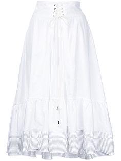 юбка с корсетной вставкой 3.1 Phillip Lim