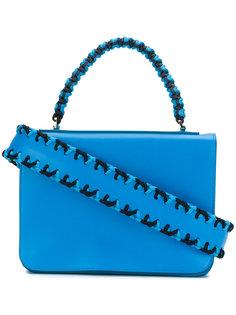 сумка с плетеной ручкой Emilio Pucci