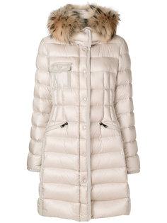 Hermifur padded coat Moncler