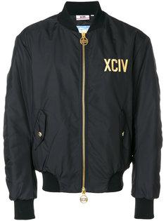 куртка-бомбер с логотипом Gcds