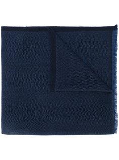 шарф с узором в елочку Salvatore Ferragamo