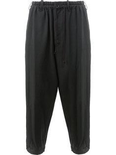 брюки с эластичным поясом Yohji Yamamoto