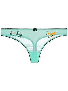 embroidered thong Dsquared2 Underwear