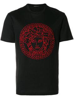 футболка с вышивкой Medusa Versace