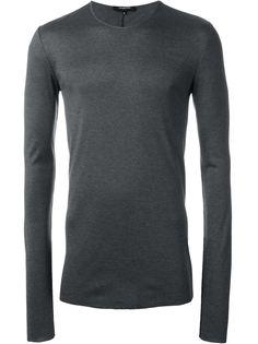 свитер плотной вязки в рубчик Unconditional