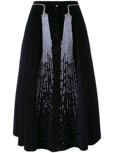 бархатная юбка Judy Olympia Le-Tan