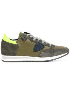 кроссовки с контрастными панелями Philippe Model