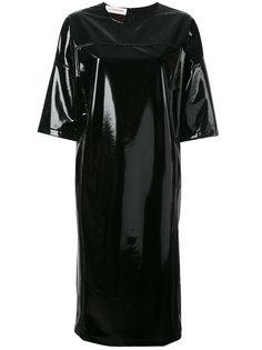 лакированное платье-футболка A.F.Vandevorst