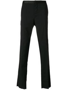брюки с шелковым поясом Lanvin