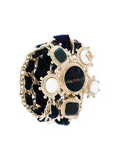 декорированный браслет Chanel Vintage