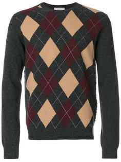свитер с узором в ромб Valentino