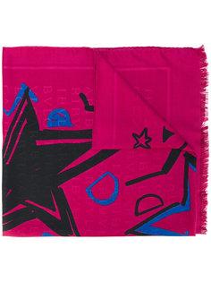 шарф с необработанными краями Bulgari