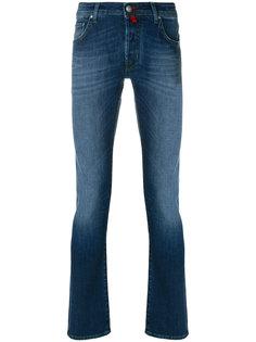 классические джинсы с потертой отделкой Jacob Cohen