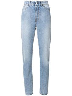 джинсы скинни с завышенной талией  Alexander McQueen