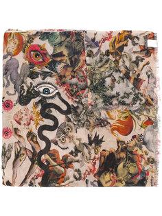printed scarf  Faliero Sarti