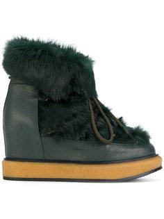 зимние ботинки на шнуровке Paloma Barceló