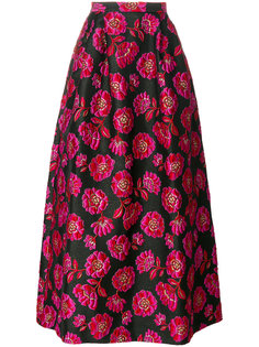 floral jacquard skirt Blugirl