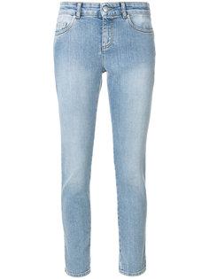 джинсы скинни  Alexander McQueen