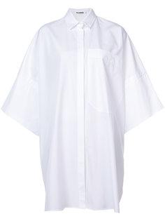 объемная рубашка Jil Sander