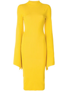 платье с рукавами клеш Ami Solace