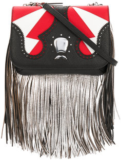 Icon fringe clutch bag The Volon