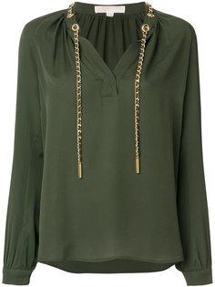 блузка со шнурком  Michael Michael Kors