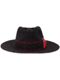 прошитая шляпа Ojo Caliente Nick Fouquet
