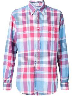 рубашка в клетку Engineered Garments