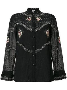 patterned blouse Vilshenko